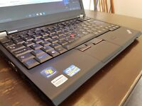 Lenovo ThinkPad X220 Laptop / Notebook x2 Chargers, i5Pro, 4GB, 320GB, Win10, Office 16, Light Clean