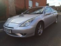 2003 Toyota Celica 1.8 VVT-i. Fantastic condition. Low miles.