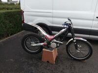 2009 sherco 125 cc trial bike