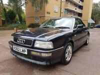 98 Classic Audi Convertible 1.8 Petrol Manual Long mot