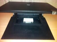 Dell Monitor Stand and Dell E-Port Replicator PR03X for Latitude E Series Laptops