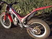 Gas gas trials bike 2005 250 cc
