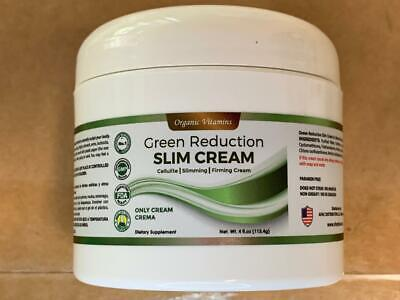 Slim Green Reduce Cream 4Oz. Help the Weight Loss Diet and Fat Burning reductora 1