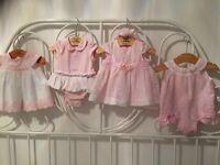 Various baby girls clothing