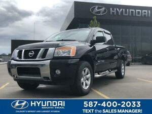 2014 Nissan Titan SV 4x4 CREW - HEATED SEATS, BED LINER/COVER