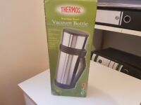 Thermos Stainless Steel Vacuum Bottle - Brand New