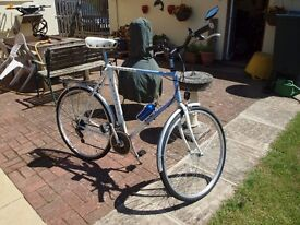 """Classic Raleigh Pioneer tourer/commuting bike with 25"""" frame"""