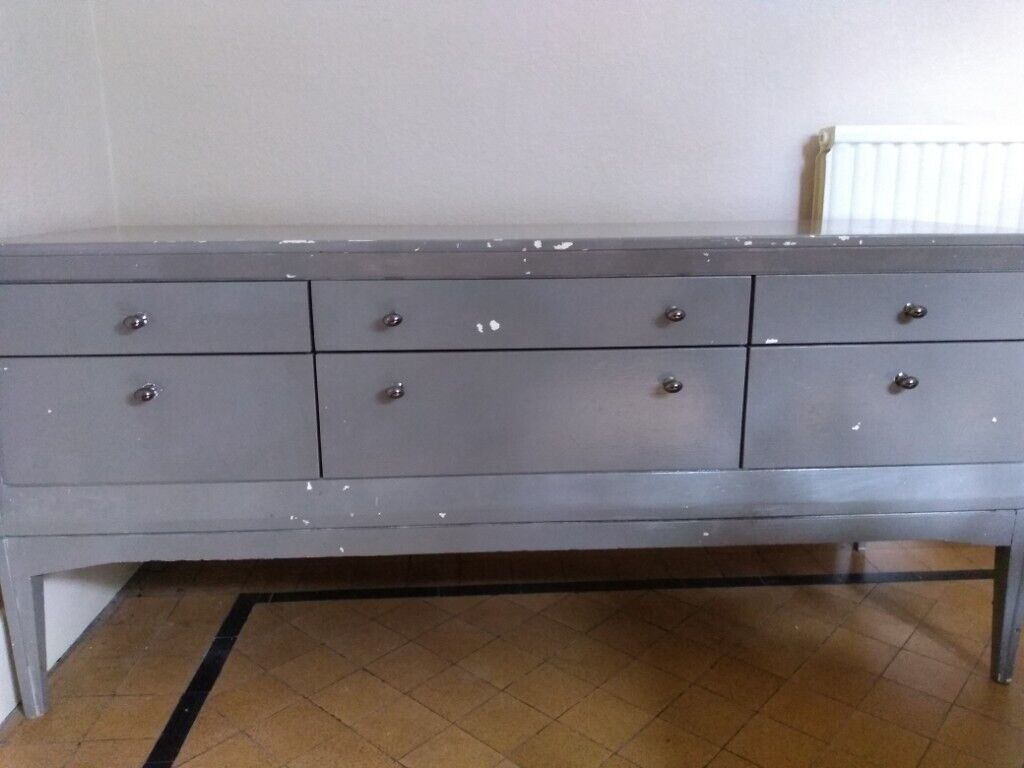 Sideboard Ready For Upcycling Or Do A Garage 145cm Length 67cm