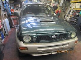 Nissan Terrano 2.7 diesel complete braking for parts
