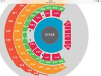 Take That Glasgow **Front Row Stage Seats Premium **X3 11th May 2017