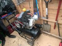 Petrol air compressor Honda g300