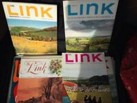 ROBINSONS OF CHESTERFIELD 'THE LINK' Magazines Over 38 old magazines with great photos