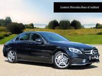 Mercedes-Benz C Class C250 D AMG LINE PREMIUM PLUS (black) 2015-11-30