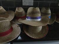 Sun hats x7