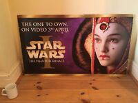 Collectible Official Star War Episode 1 Movie Poster – Princess Amidala