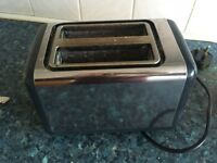 Toaster stainless still, good condition