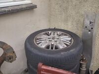 rover 75 alloys and tires