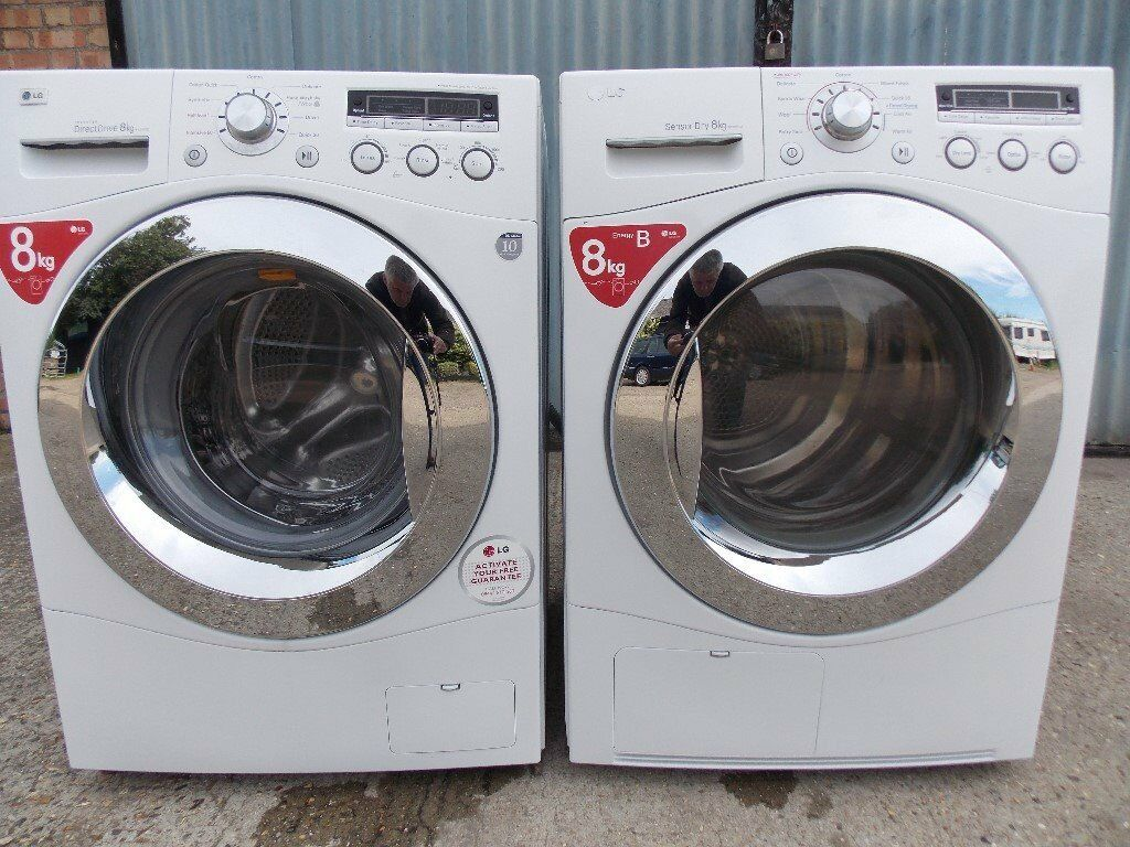 Washing Machines And Dryers ~ Lg washing machine and matching condenser dryer