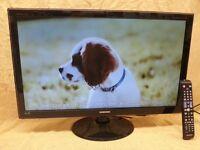 SAMSUNG 27in SMART FULL HD TELEVISION/MONITOR. MODEL NO: T27B551EW