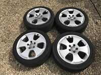 Audi A3 17 inch Sport alloys with good tyres 5x112