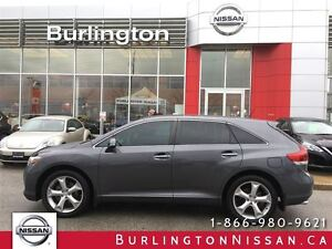 2014 Toyota Venza LIMITED, NAVi, ACCIDENT FREE !