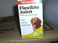 vetzyme flexible joint tablets for dogs box of 90