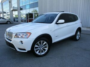 2011 BMW X3 xDrive35i PANOROOF CAMERAS