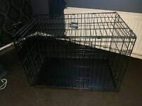 Large dog crate (36x23in height 24in)