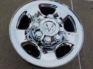 "2013 Dodge Ram 2500/3500 Chrome steel OEM 17""x 8 bolt rims / no tires"