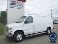 2014 Ford E-250 Cargo Van w/Bucket Seats, Running Boards