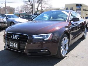2014 Audi A5 2.0T PREMIUM PLUS/NAVIGATION/QUATTRO/SUNROOF/AWD!!