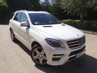 Mercedes-Benz ML Ml250 Bluetec Amg Line (white) 2015