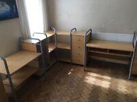 Ikea modular bedroom/office furniture
