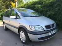 VAUXHALL ZAFIRA 1.6 **2005** 7 SEATER** MOT EXPIRES JUNE 2019** IDEAL FAMILY CAR**