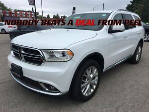 2016 Dodge Durango Limited**LOADED**LOW KLMS**