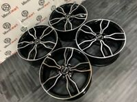 "NEW 18"" AUDI S3 STYLE ALLOY WHEELS - GLOSS BLACK ALSO - 5 x 112"