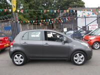 Toyota Yaris 1.33 VVT-i TR 5dr £30.TAX YEAR LOW INSURANCE 10/60 SOLID MOTORING
