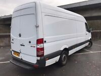 MERCEDES SPRINTER 311 2.2 CDI LWB 2007 VAN WHITE MOT'D TILL MAY 2018 £2495 + Vat