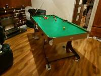 5 ft pool and snooker table