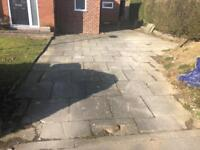 Paving flags x60 approx collection Leeds 15 asap buyer collect