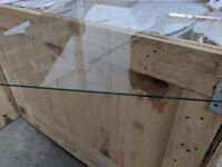 Glass, clearfloat glass 2mmx600mmx600mm sheets high grade UV protective