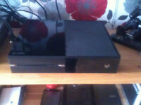 xbox one very good condition 500gb with power supply just had replacement laser
