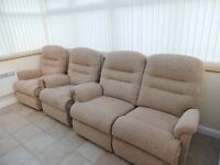 Sherborne Reclining Electric Chairs & Sofa