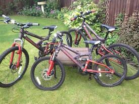 Children's mountain bikes