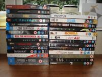 A selection of DVD and Blueray Films