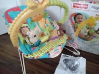 Fisher Price playtime baby bouncer chair