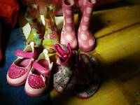 Size 3 girl shoes