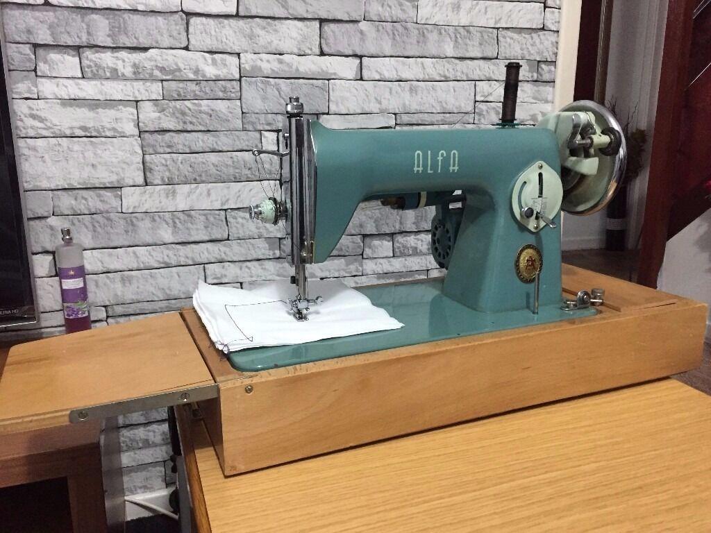 Sewing Machine Alfa In Stoke On Trent Staffordshire Gumtree