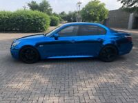 Bmw 535d lci diesel mirror chrome blue not Audi Mercedes Volkswagen 530d automatic Vauxhall Seat