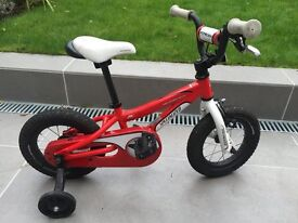 "Specialized Hotrock 12"" Wheel Children's Bicycle / Bike with stabilisers"